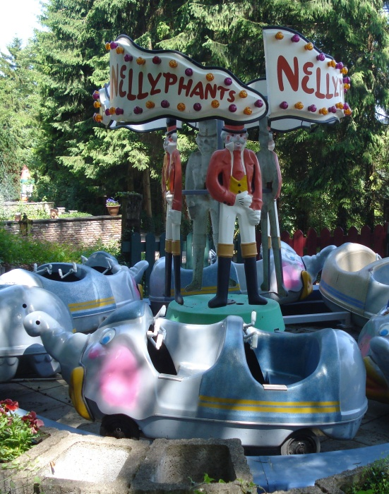 Nellyphants in Sprookjebos Valkenburg
